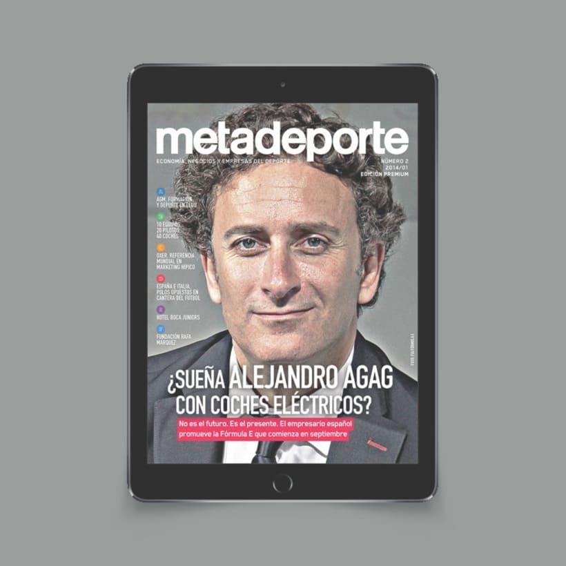 Revista Metadeporte #2 (iPad/Android) 0