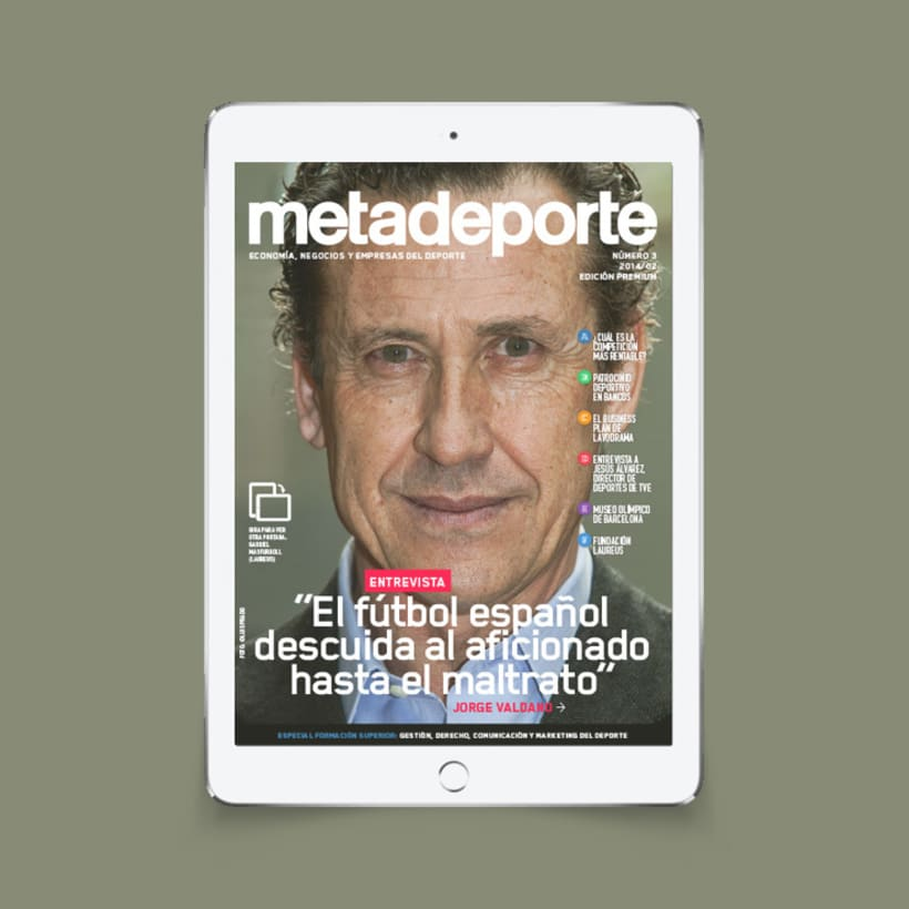 Revista Metadeporte #3 (iPad/Android) 0