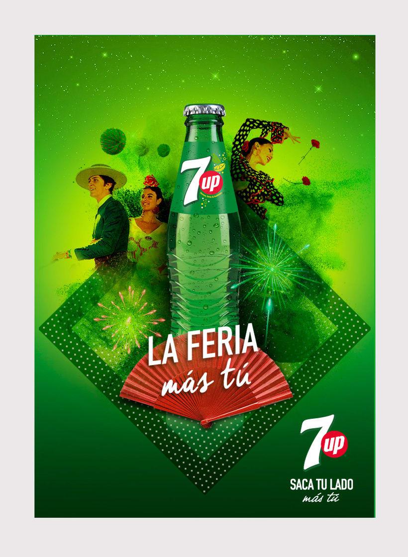 """Pepsico 7Up """"La Feria más tú"""" -1"""
