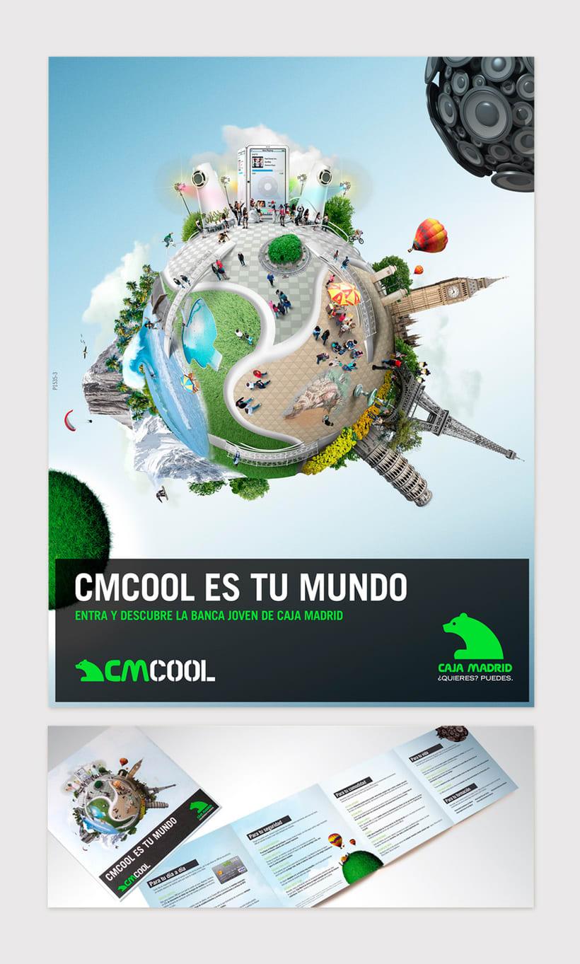 """Caja Madrid """"CMCool es tu mundo"""" -1"""