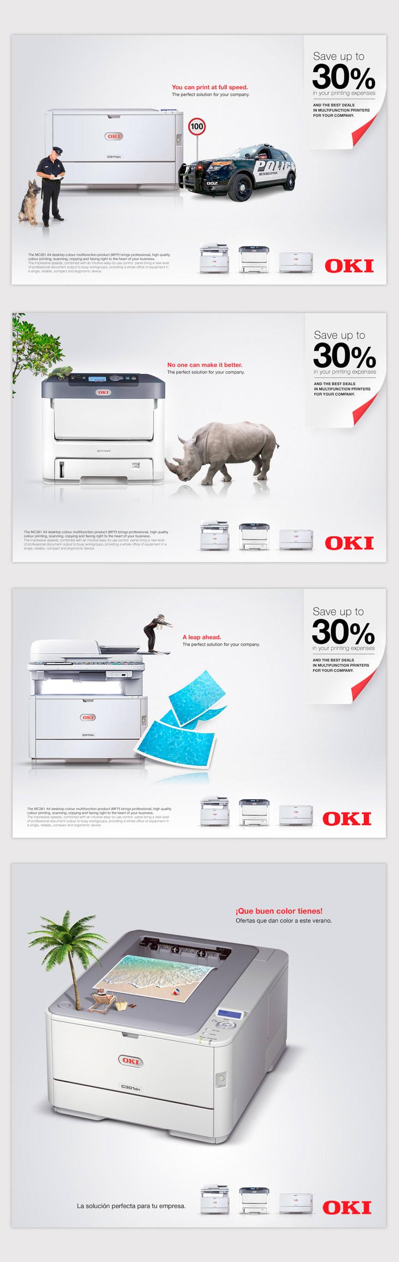 OKI Impresoras -1