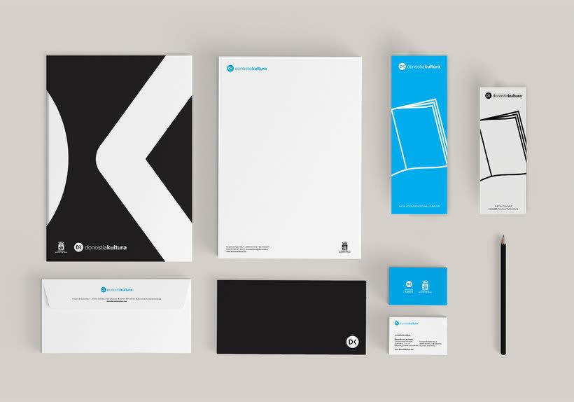 Nueva identidad corporativa de Donostia Kultura 2