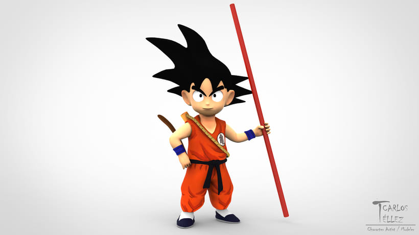 Cartoon - Goku 0