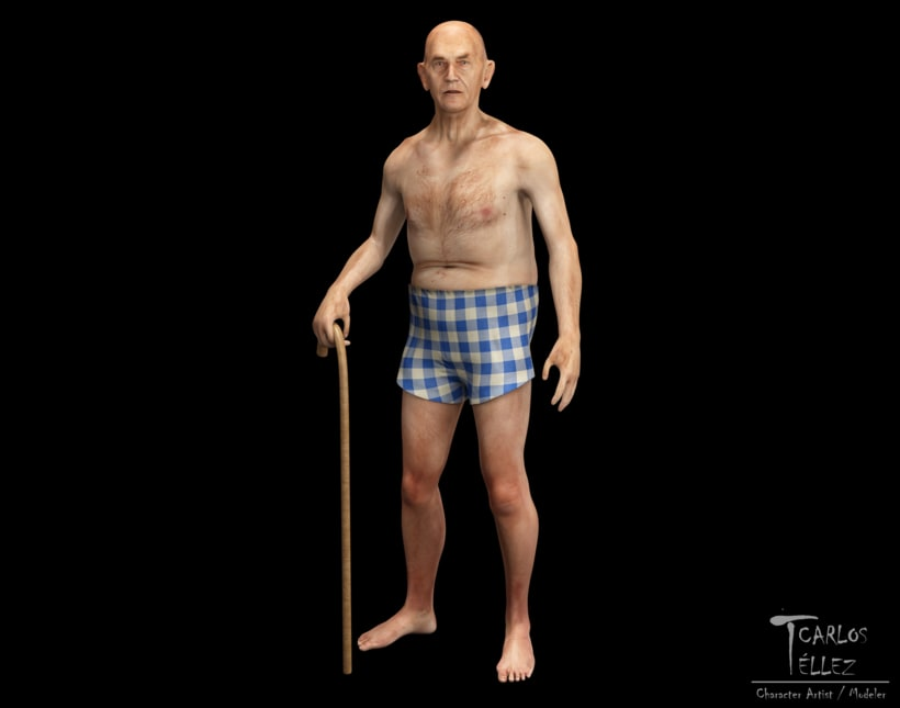 Anatomía - Anciano 0