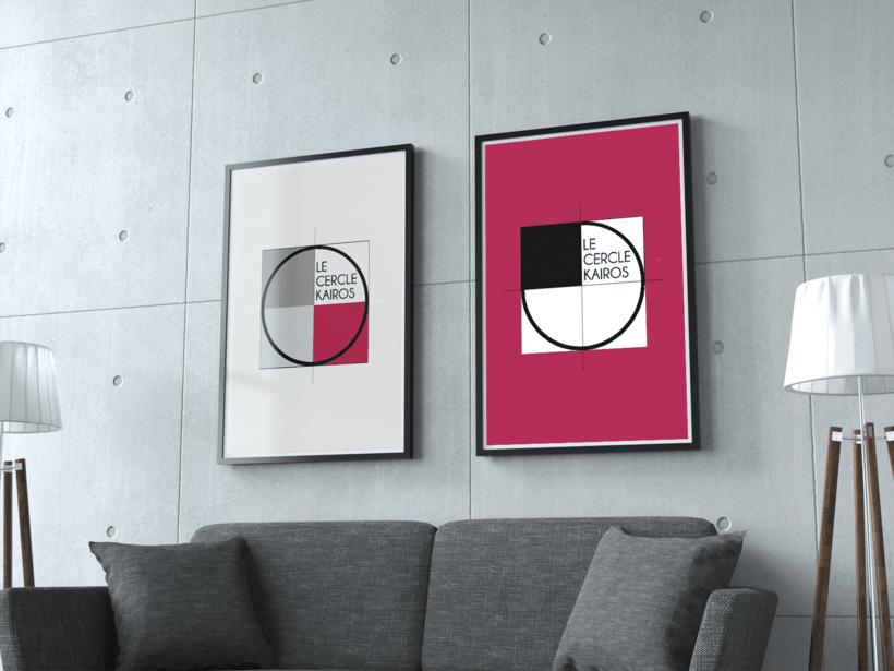 Branding - Le Cercle Kairos 0