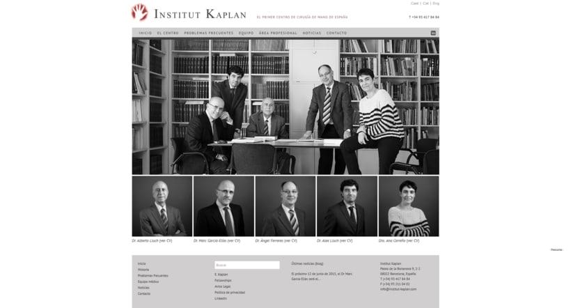 Web para Institut Kaplan 2