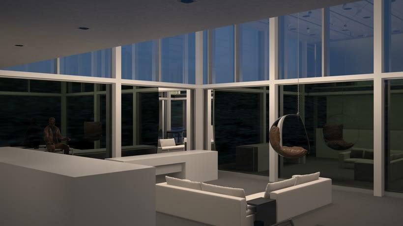 Mi Proyecto del curso: Representación de espacios arquitectónicos con 3D Studio Max 1