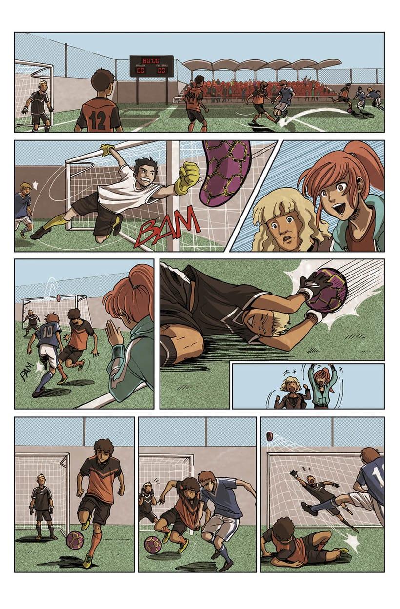 Comic Parkour (francés) -1