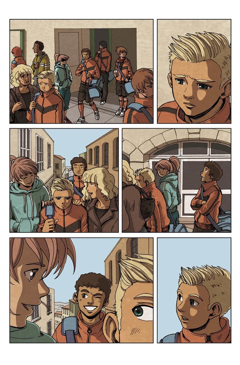 Comic Parkour (francés) 0