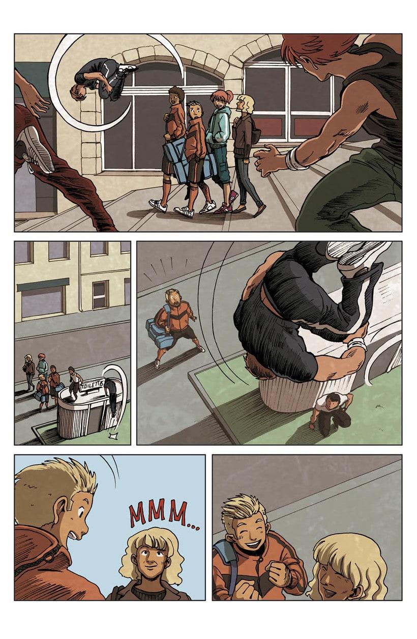 Comic Parkour (francés) 1