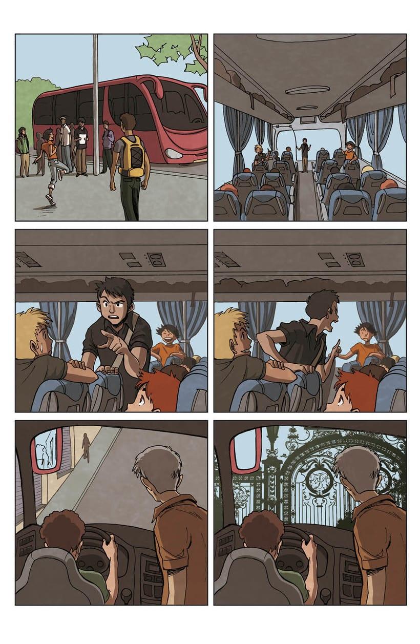 Comic Parkour (francés) 5