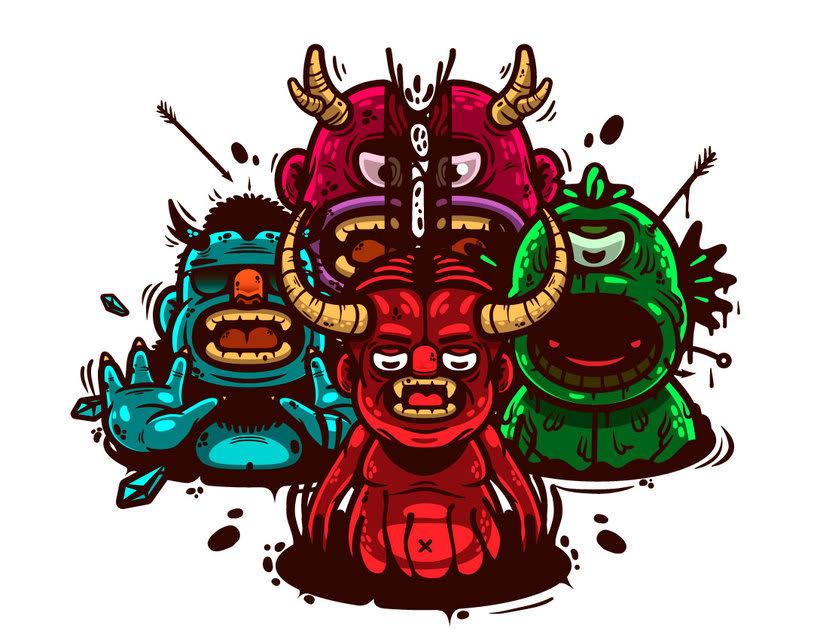 El bestiario digital de Oscar Moctezuma 1