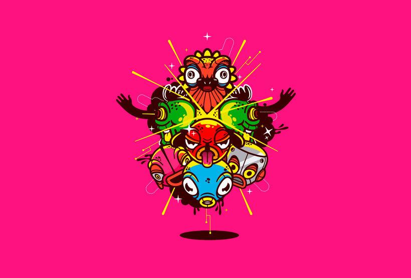El bestiario digital de Oscar Moctezuma 11