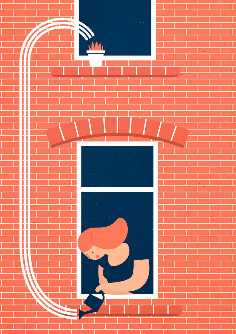 El mismo diablo se cuela en las ilustraciones de Tiago Galo 7