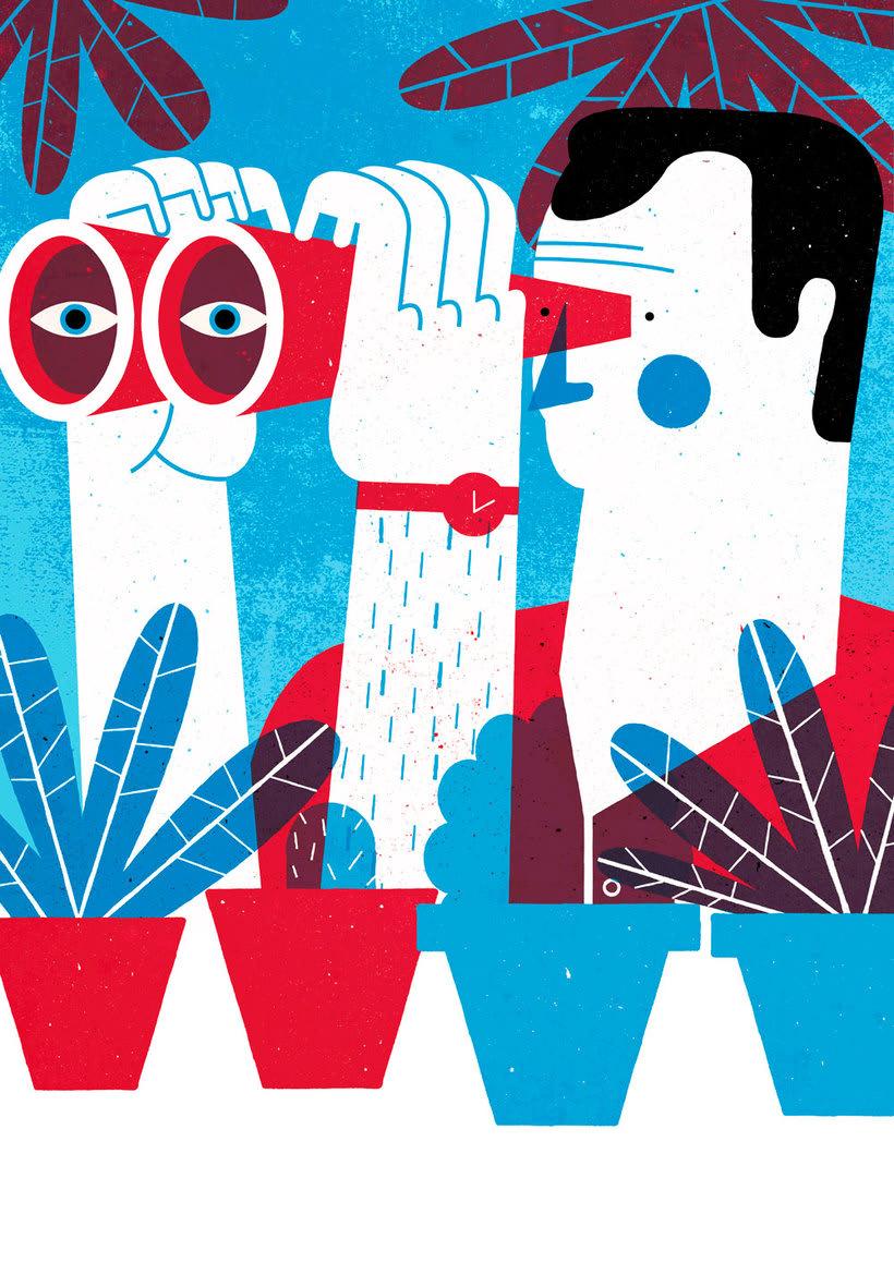 El mismo diablo se cuela en las ilustraciones de Tiago Galo 11