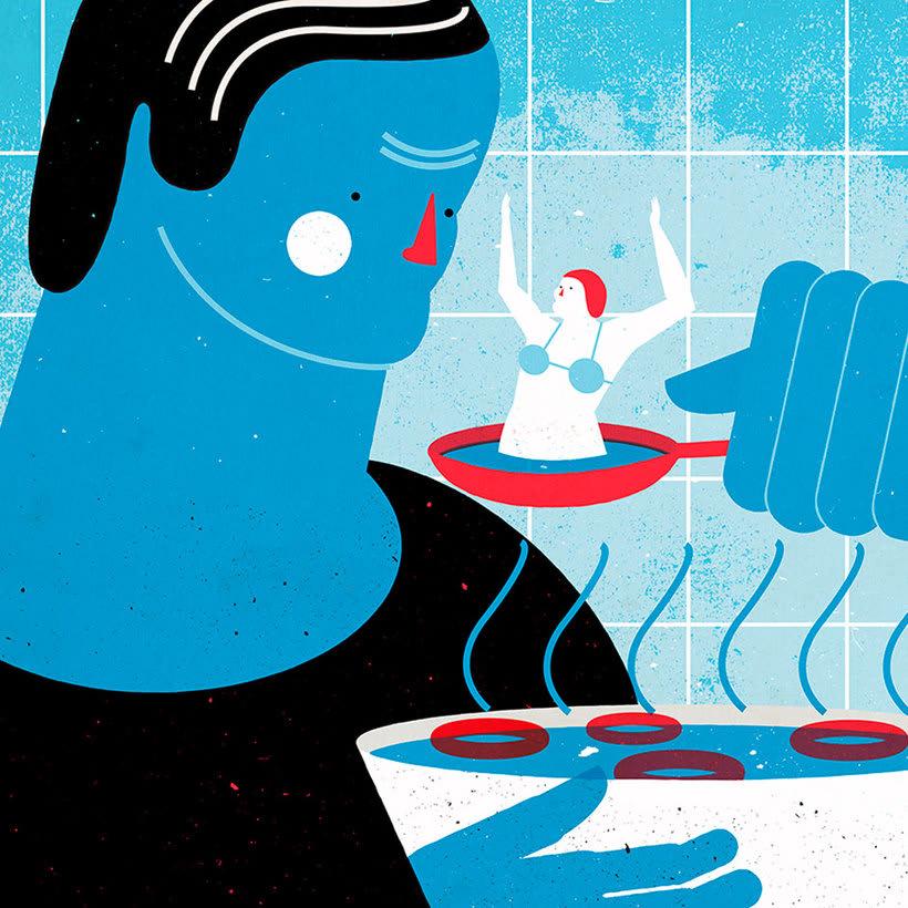 El mismo diablo se cuela en las ilustraciones de Tiago Galo 21