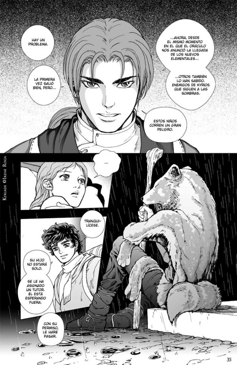 Kýriade - cómic manga 4