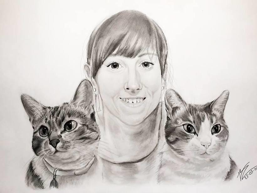 Retratos/Dibujos 5