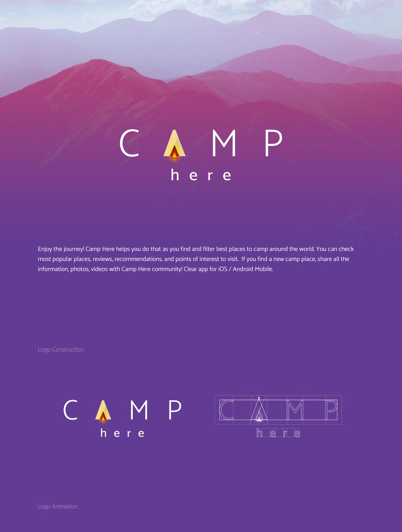 Camp Here App 0