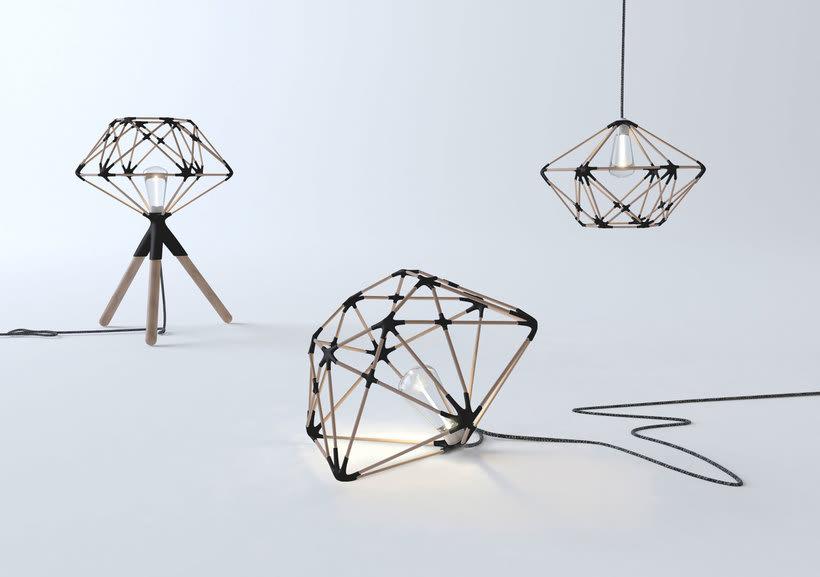 Mobiliario minimalista con diseño DIY 4