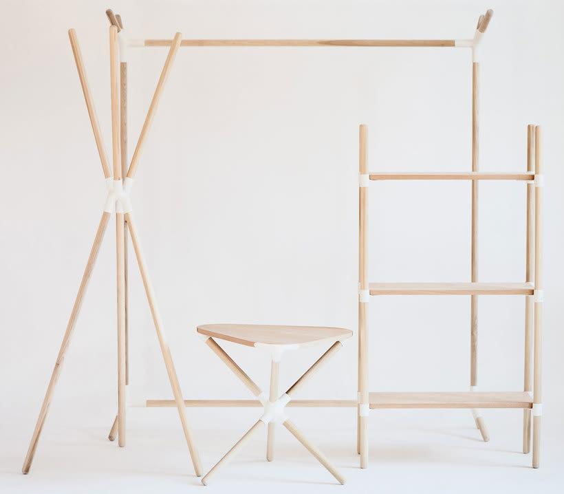 Mobiliario minimalista con diseño DIY 6