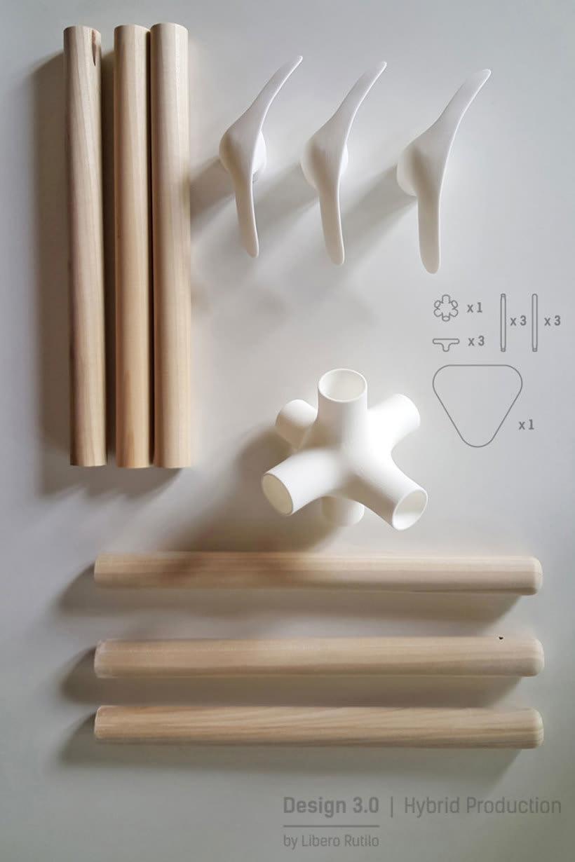 Mobiliario minimalista con diseño DIY 9