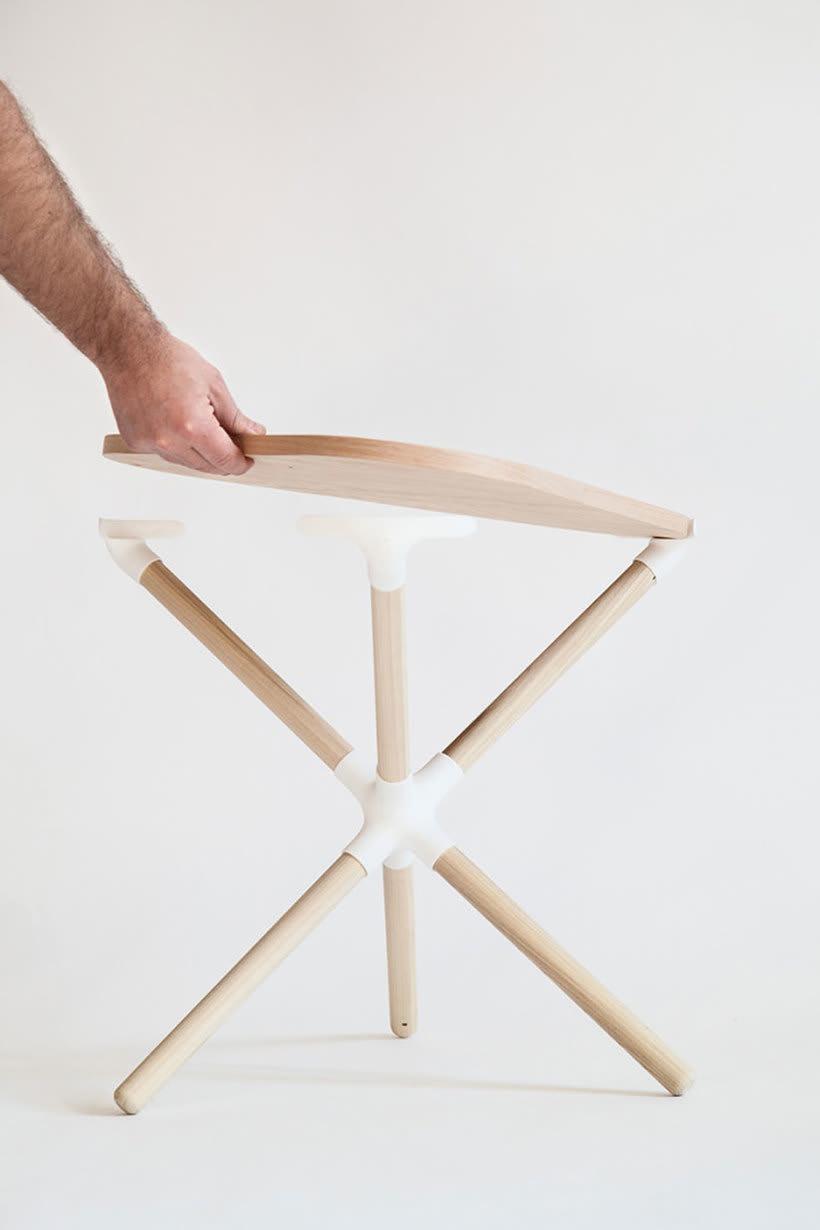 Mobiliario minimalista con diseño DIY 10