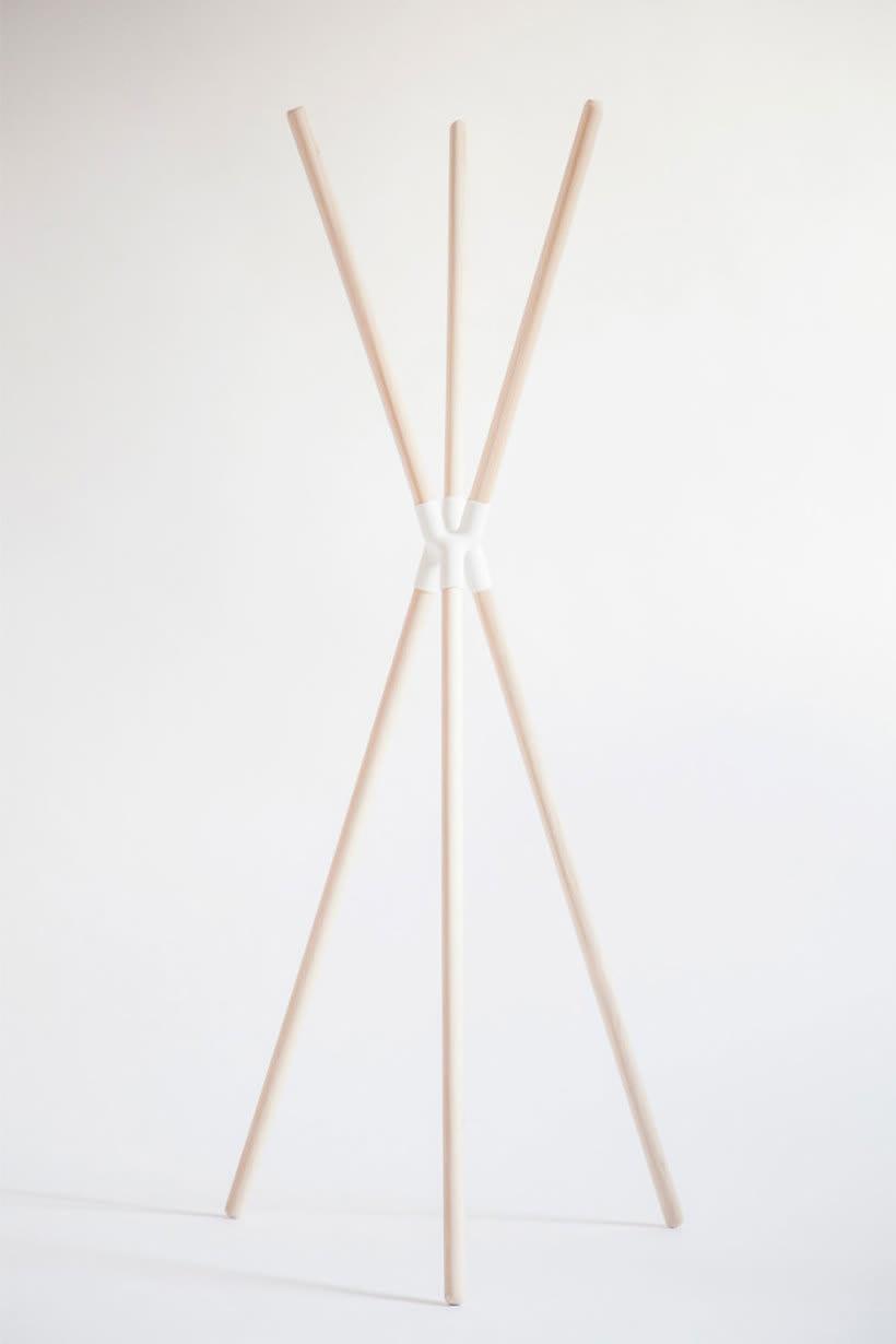 Mobiliario minimalista con diseño DIY 15