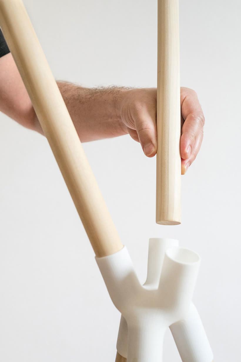 Mobiliario minimalista con diseño DIY 16
