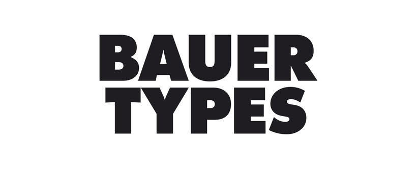 Identidad corporativa Bauertypes 0