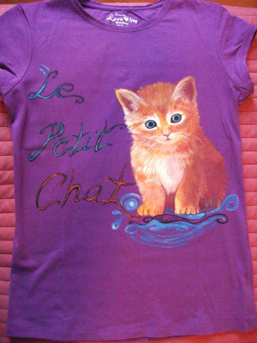 Camisetas Pintadas a mano de Mujer y de hombre 16