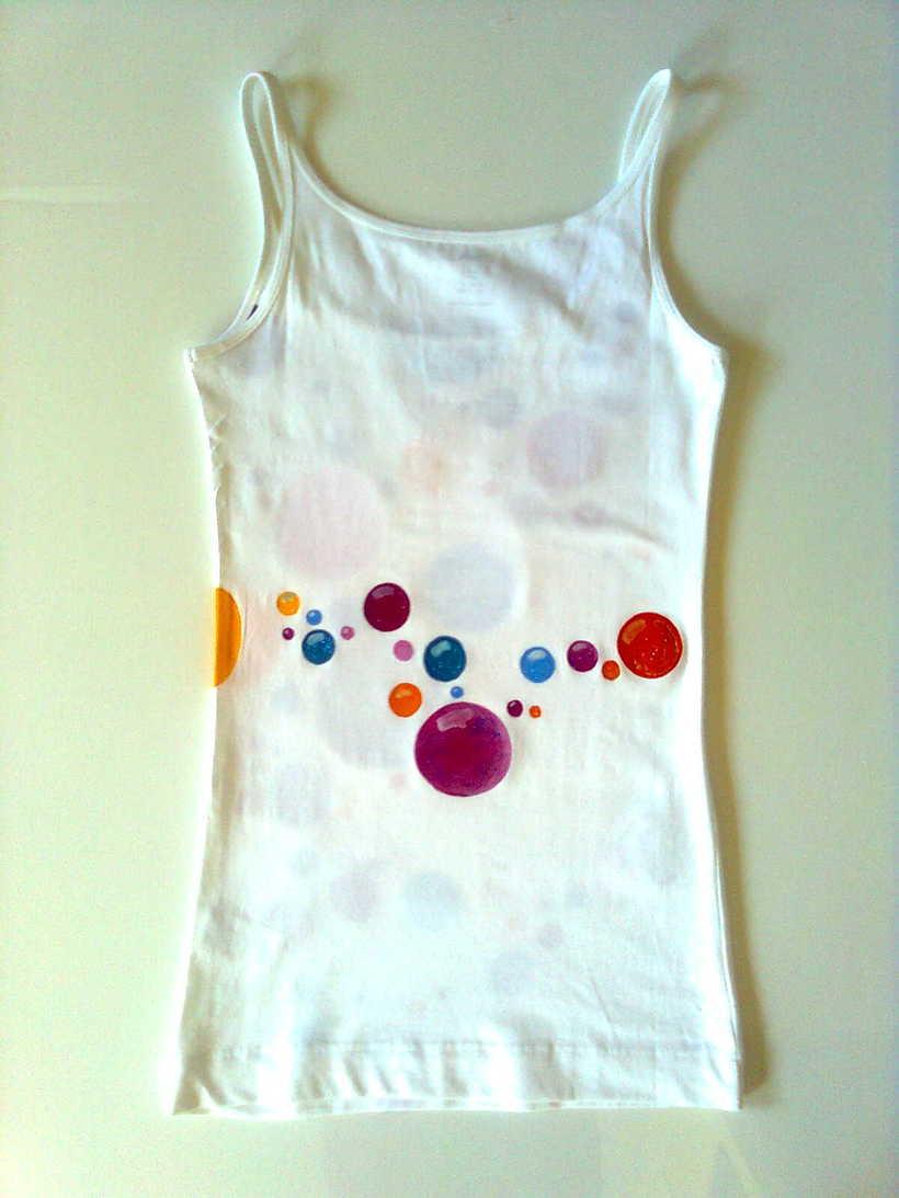 Camisetas Pintadas a mano de Mujer y de hombre 24