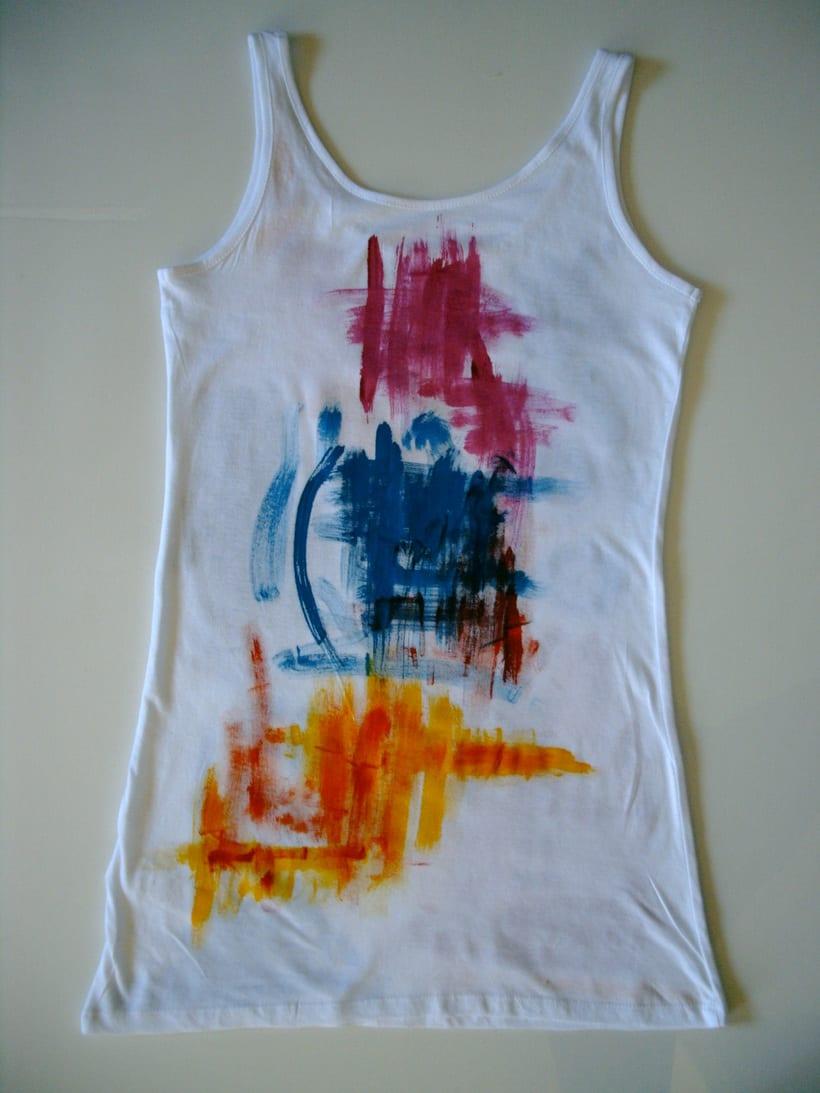 Camisetas Pintadas a mano de Mujer y de hombre 26