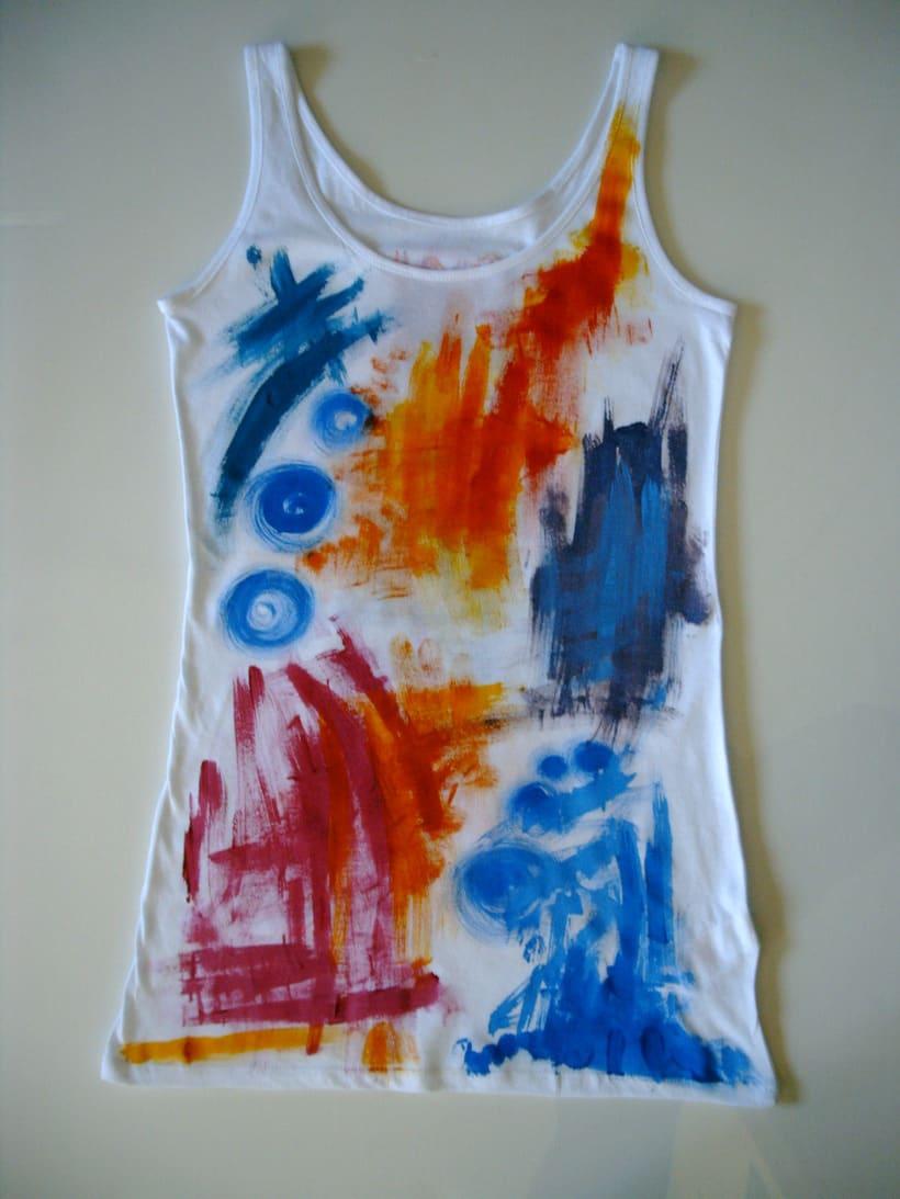 Camisetas Pintadas a mano de Mujer y de hombre 25