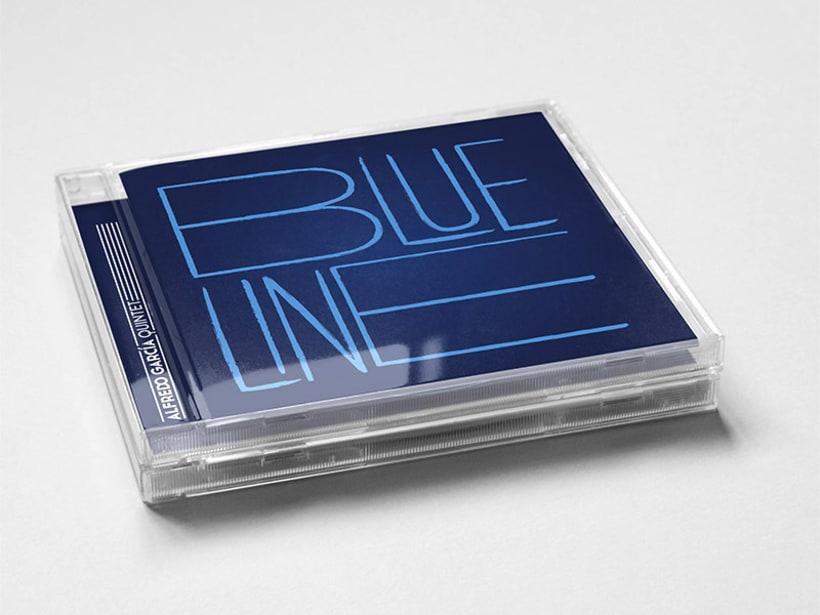 Blue line 0