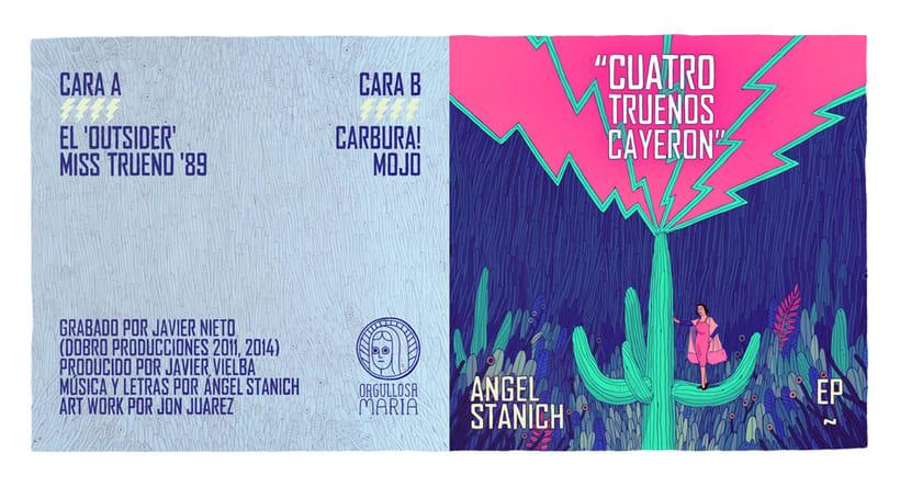 Ángel Stanich / Cuatro truenos 3