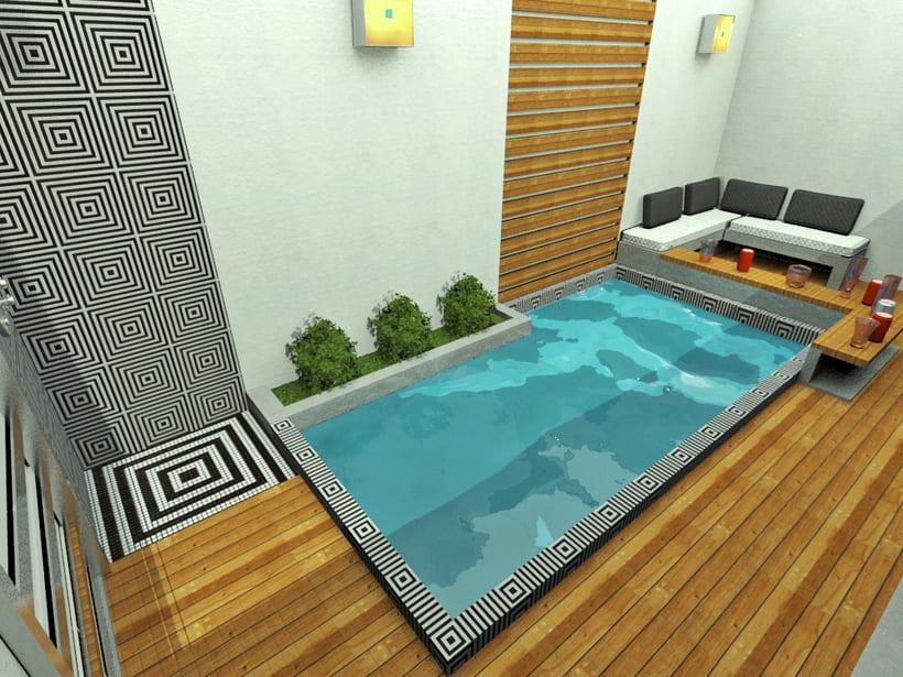 Mini piscina domestika for Mini albercas