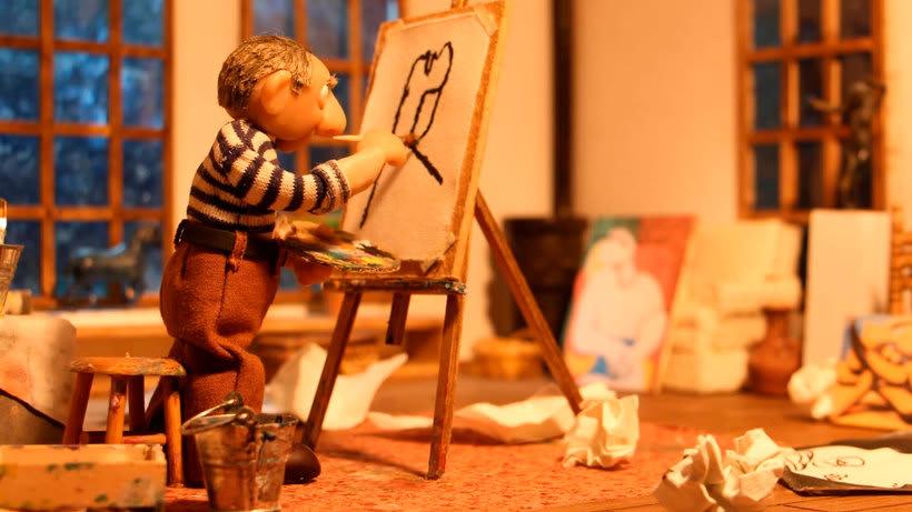 Picasso y el Guernica en stop-motion 3