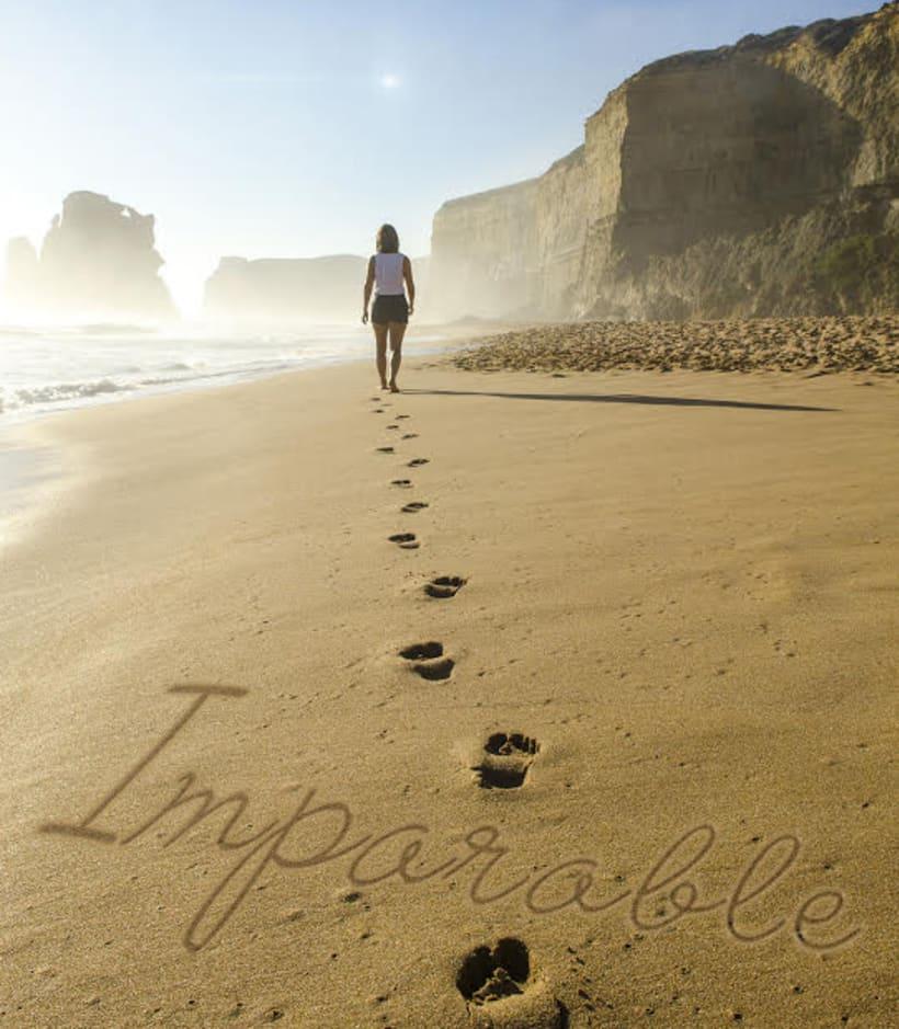 Efecto texto escrito en arena de playa con Photoshop 1