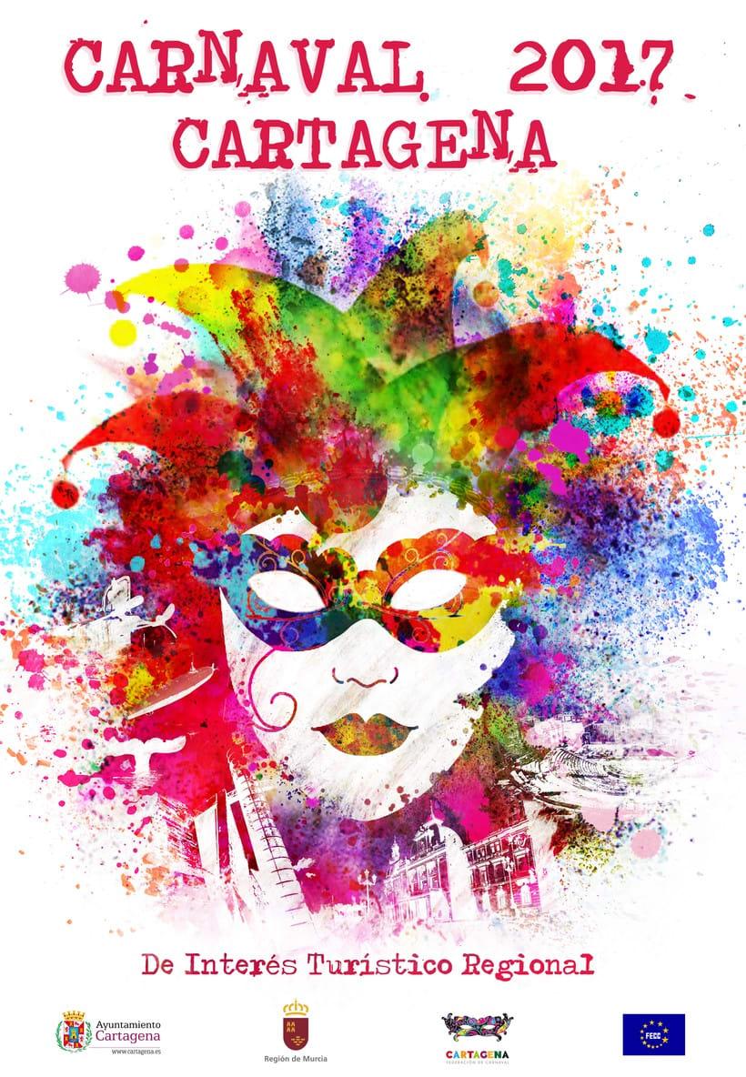 Concurso Carteles Carnaval 2017 Cartagena De Interés Turístico