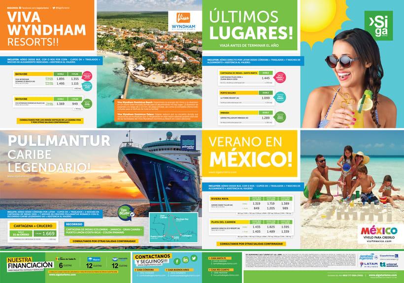 Publicidad Gráfica y Tarifarios | Siga Turismo 2017 1
