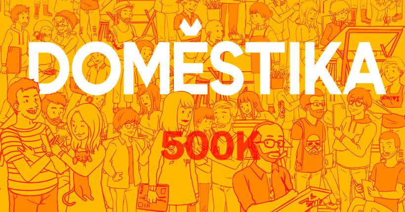Estos son los ganadores del concurso 500K de Domestika 19