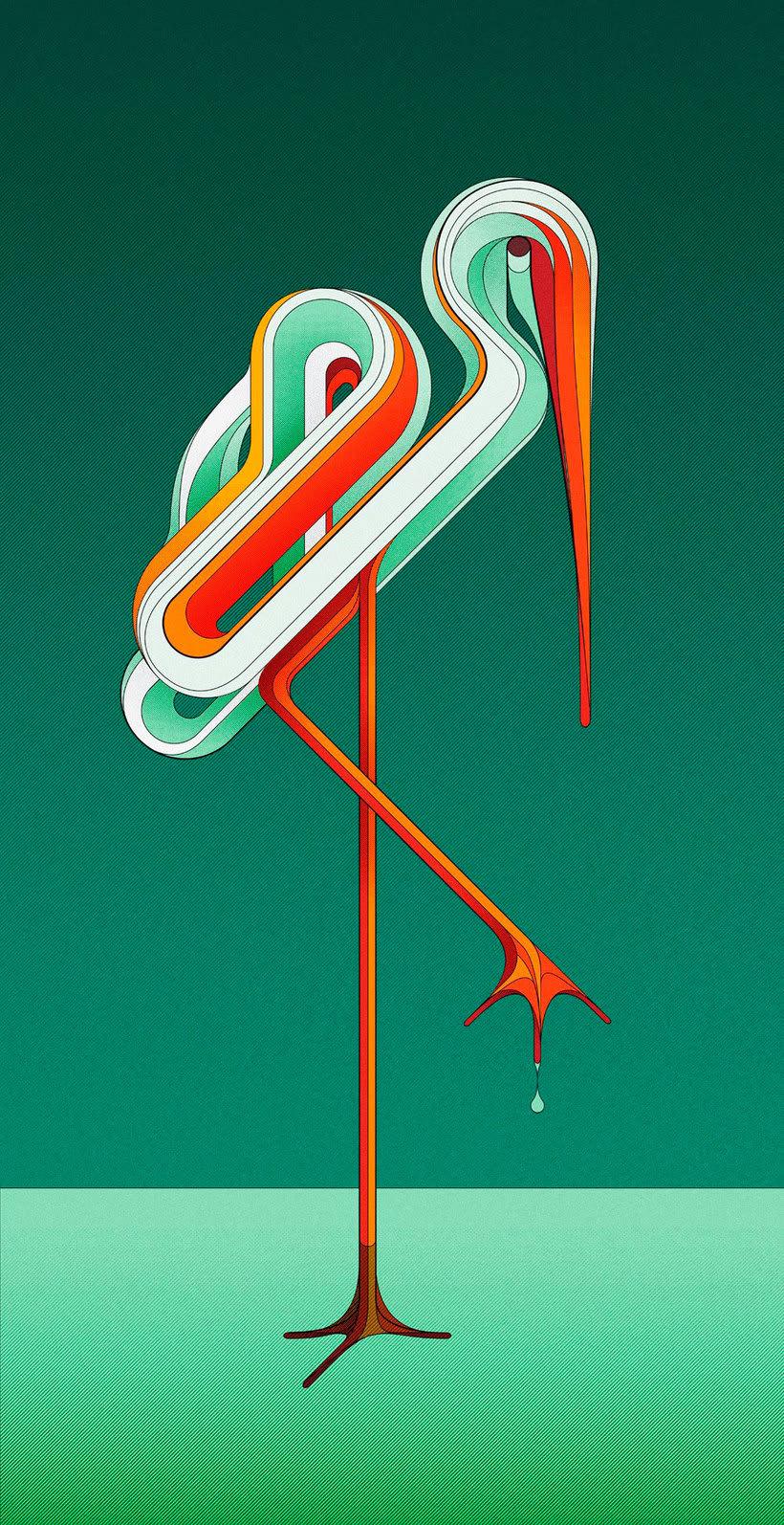 La fina línea entre la ilustración y el lettering de Charles Williams 1