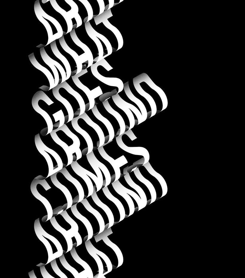 La fina línea entre la ilustración y el lettering de Charles Williams 20