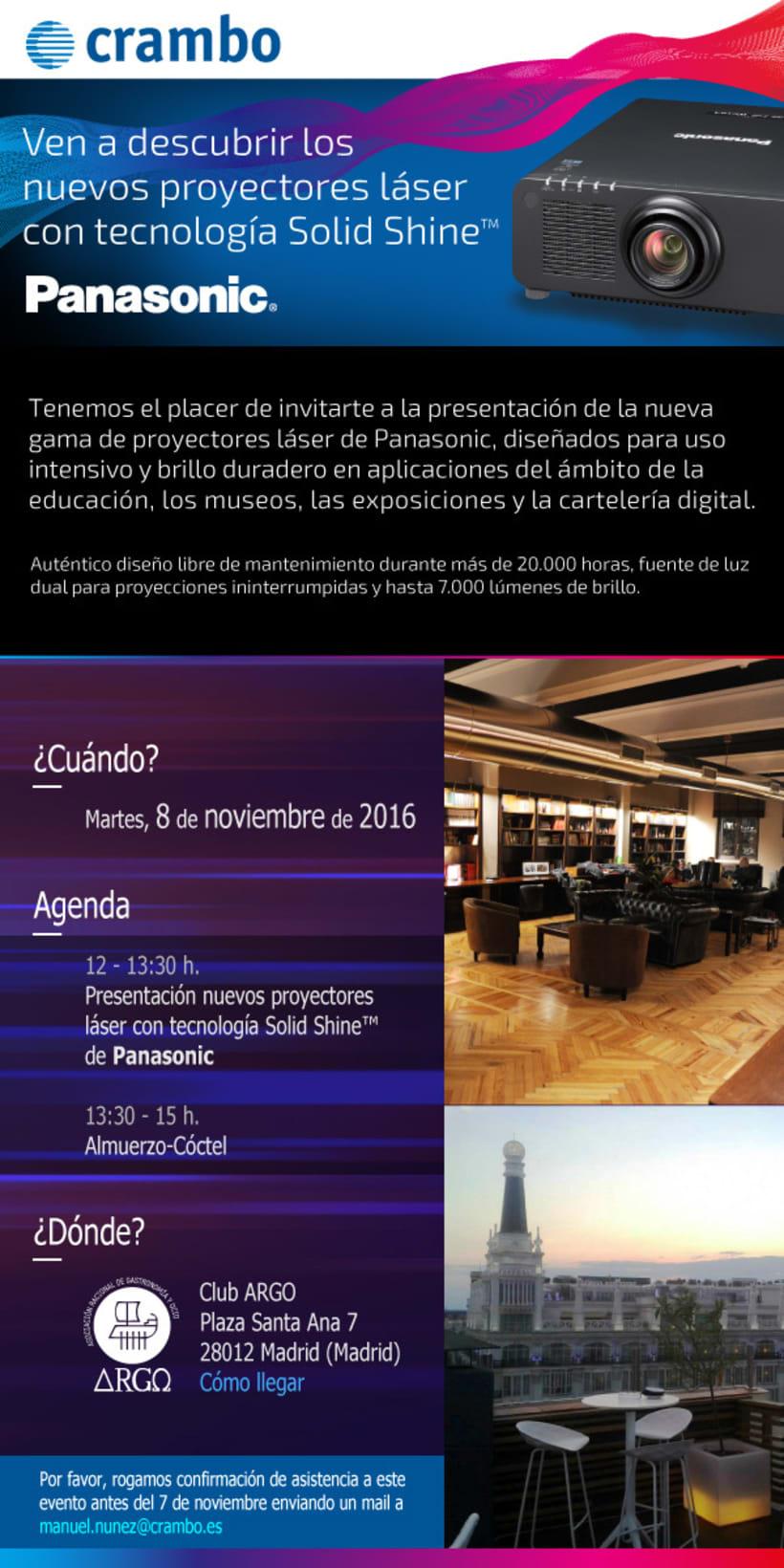 E-mail marketing PANASONIC -1