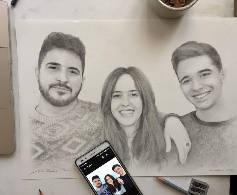 Dibujos hechos a lapiz en mi web retratos-a-lapiz.es 1