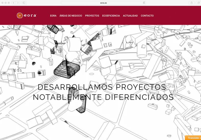 Página web Eora 0
