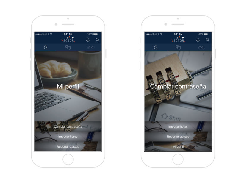 Vector Digital mobile app -1
