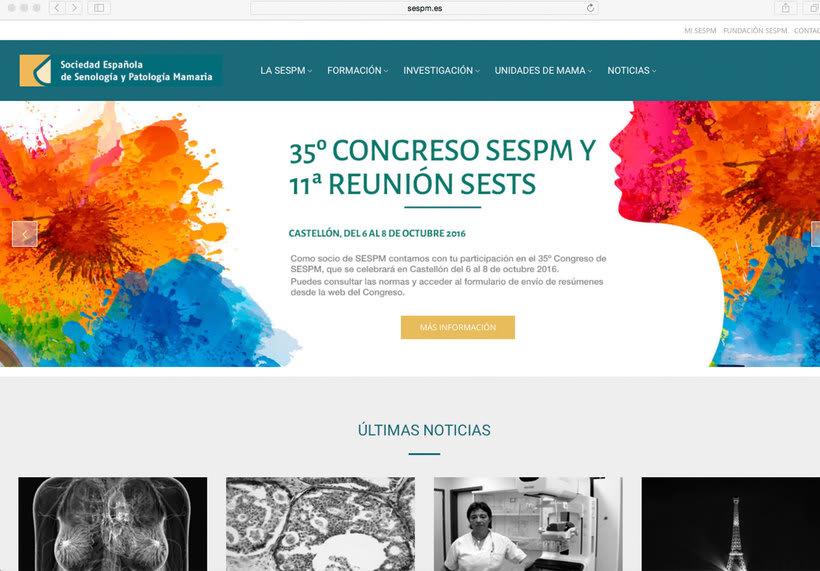 Página web SESPM 0