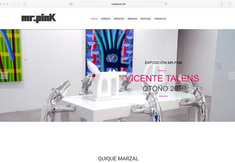 Página web Mr. Pink 0
